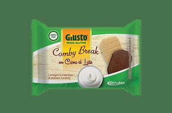 Giusto senza glutine comby break crema latte