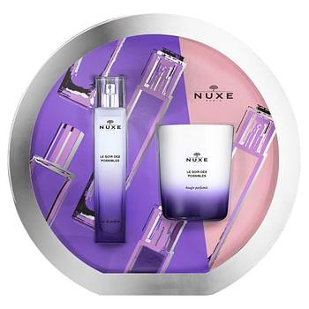 Nuxe coffret soir des possibles 2020 soir des possibles eaude parfum 50ml + soir des possibles bougie 140g