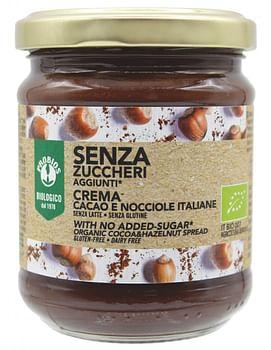 Crema spalmabile cacao/nocciole senza zuccheri aggiunti 200g