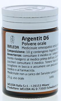Weleda argentit d6 trituration 20 g