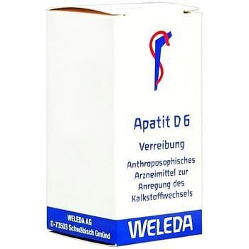 Weleda apatit d6 trituration 20 g