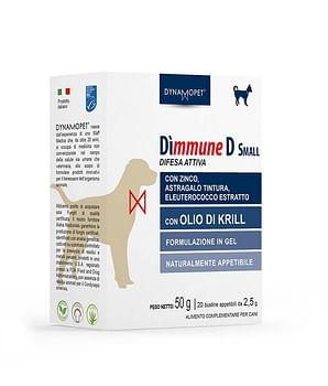Dimmune d small cani 20 bustine 2,5 g