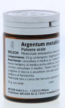 Weleda argentum metallicum d6 trituration 20 g