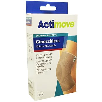 Actimove everyday ginocchiera elastica chiusa alla rotula s