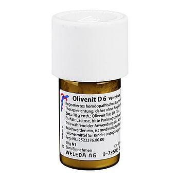 Weleda olivenit d6 trituration 20gg