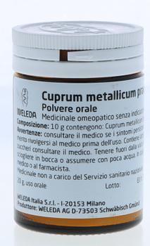 Weleda cuprum metallicum praeparatum d20 trituration 20 g