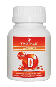 Thotale vitamina d 60 compresse