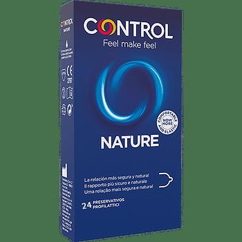 Profilattico control new nature 2,0 24 pezzi