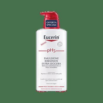 Eucerin ph5 emulsione extra leggera promo 400 ml