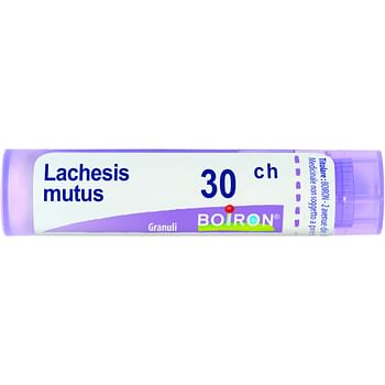 Lachesis mutus 30 ch granuli