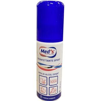 Meds disinfettante spray 80% 100 ml