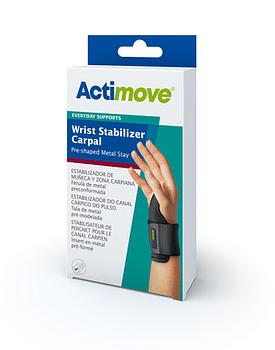 Actimove everyday stabilizzatore carpale per polso con stecca metallica universale