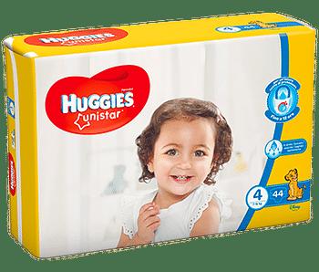 Huggies unistar tg 4 44 pezzi