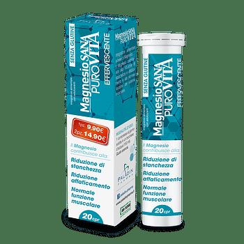 Sanavita magnesio 20 compresse effervescenti