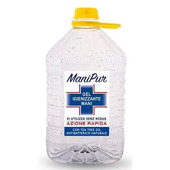 Manipur gel igienizzante 5 litri